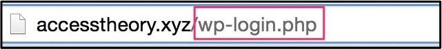 wordpressの管理画面にログインする方法8
